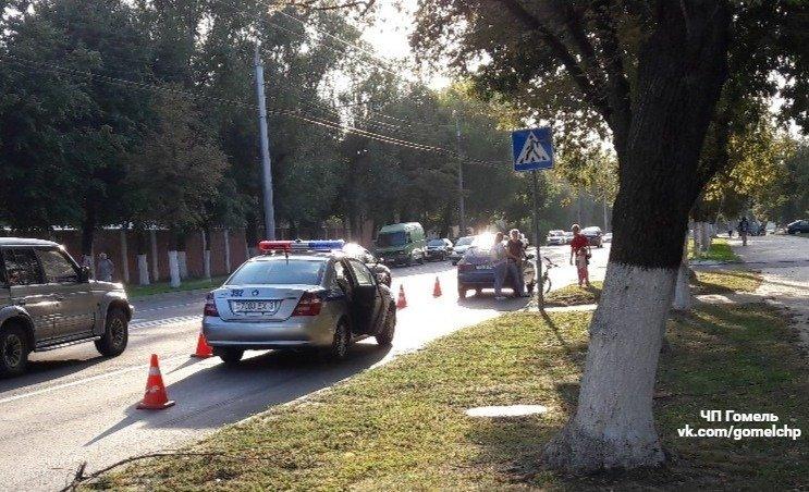 Авария в Гомеле: на пешеходном переходе сбили ребёнка