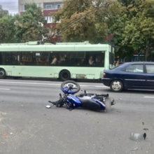 ДТП в Гомеле: пострадал несовершеннолетний мотоциклист