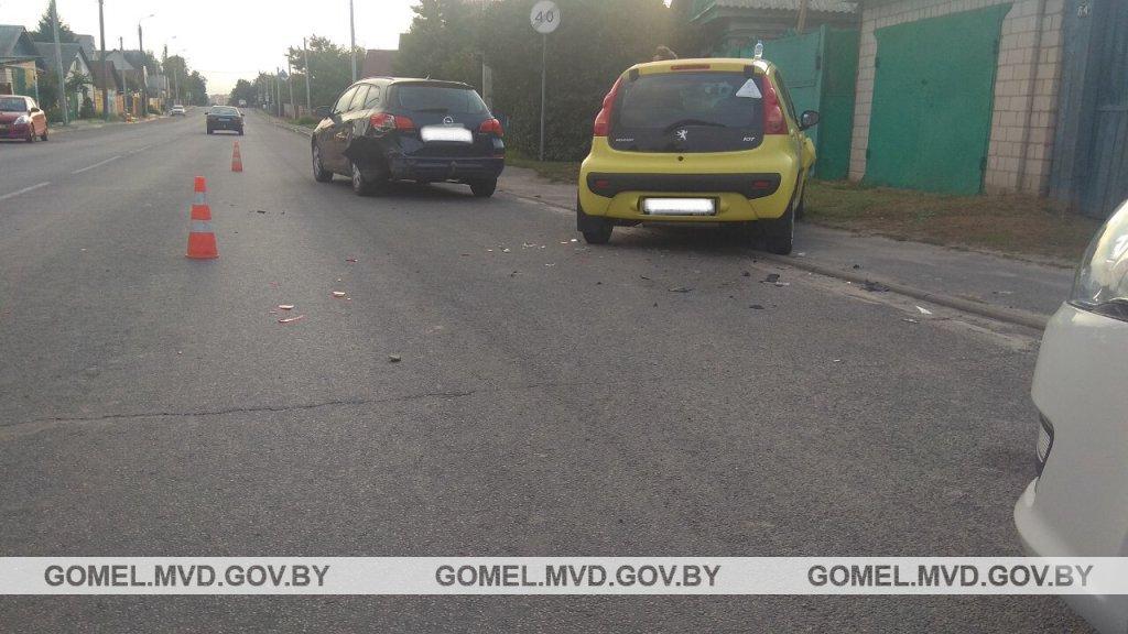 В результате ДТП в Гомеле пострадал 7-летний ребенок