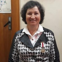 Коллаборанты вручили медаль БНР депутату Елене Анисим