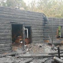 На пожаре в Речицком районе погиб мужчина