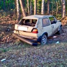 Суд вынес приговор бесправнику, который врезался с пассажирами в дерево и скрылся