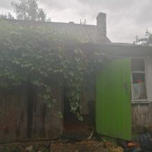 В Рогачеве сгорел дом. Тело хозяина нашли в шкафу