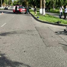 В результате ДТП в Гомеле серьезно пострадал водитель мопеда