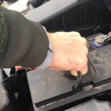 В Мозыре молодые люди похитили аккумуляторы из автомобиля