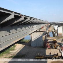 В Гомельском районе новый мост оживит движение по части М8/Е95
