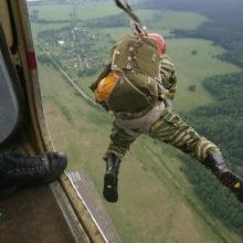 Белорусский парашютист разбился во время прыжка