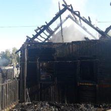 Жительница Петриковского района погибла на пожаре