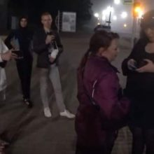 В центре Могилева юноша снял на видео проституток и подрался с сутенерами