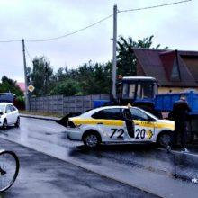 В Гомеле произошло ДТП с участием двух автомобилей и трактора