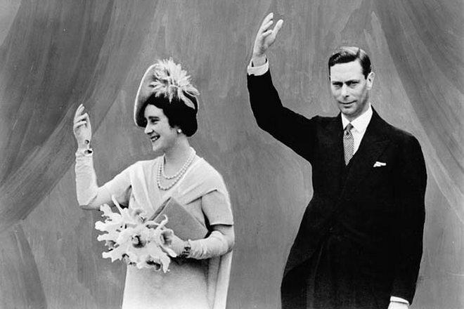 Елизавета Боуз-Лайон и Георг VI