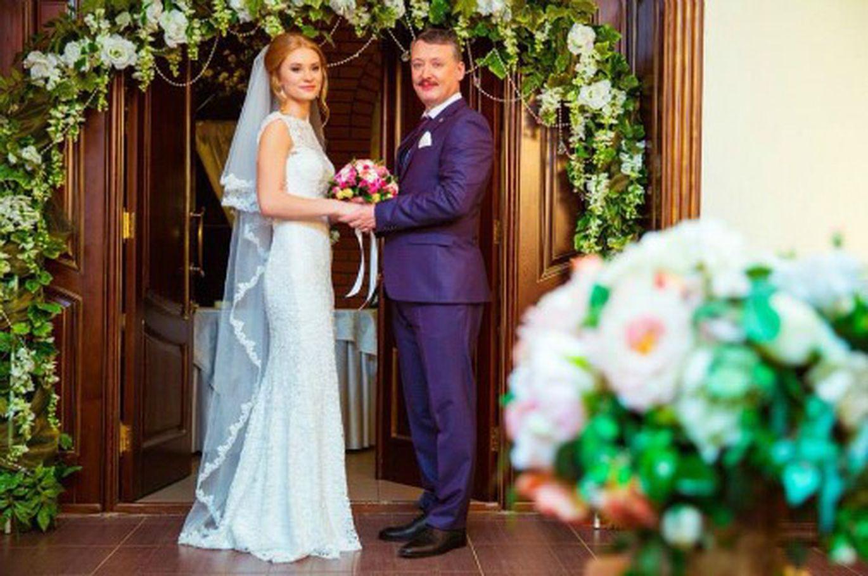 Игорь Стрелков и его жена Мирослава