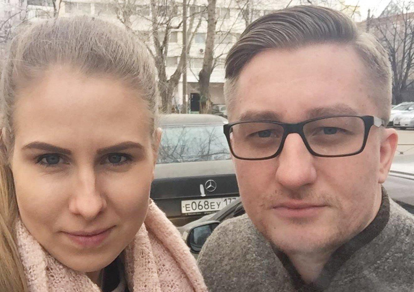 Любовь Соболь и ее муж Сергей Мохов