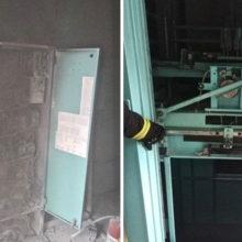 Минские пожарные вытащили людей из задымленного лифта