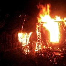 При пожаре в Мозырском районе погибла пенсионерка