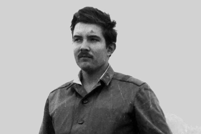 Сергей Бабурин в Афганистане