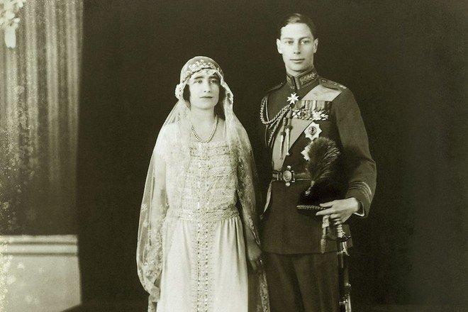 Свадьба Елизаветы Боуз-Лайон и Георга VI