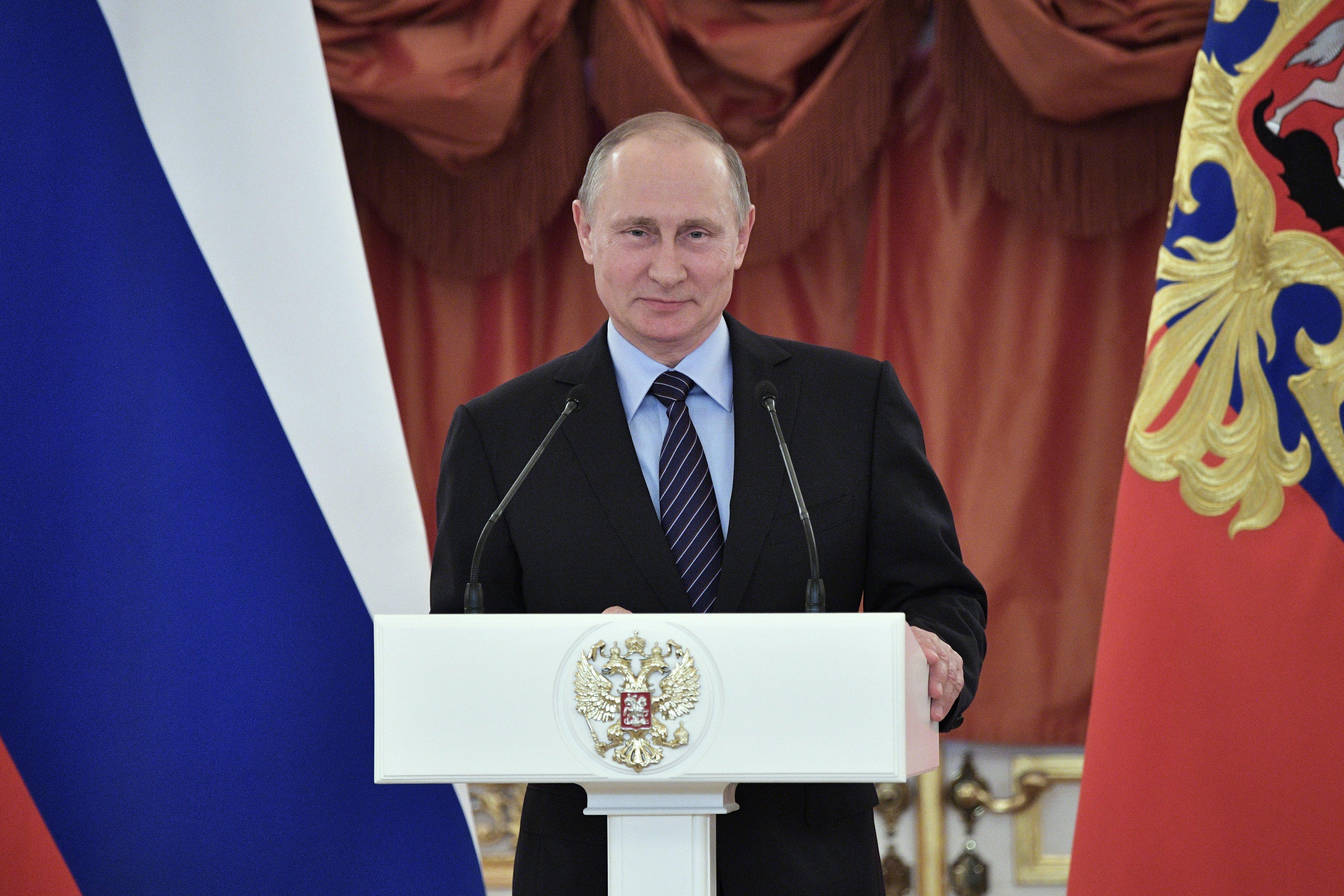 Владимир Путин на посту президента РФ