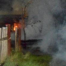 За прошедшие выходные в области ликвидировано шесть пожаров