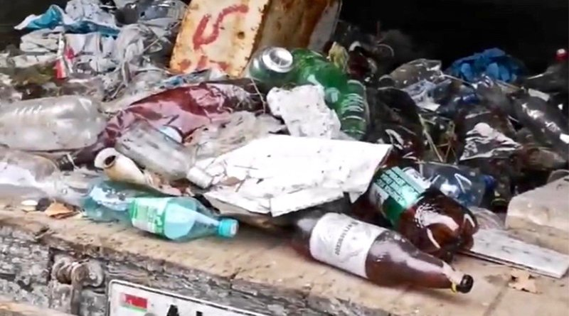грузовик мусора