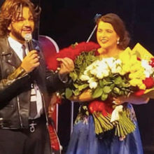 Киркоров прилетел в Минск, чтобы поздравить жену Макея