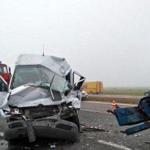 Маршрутка «Мозырь — Минск» въехала в бензовоз, пострадали 8 человек