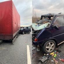 Микроавтобус с белорусами попал в ДТП на трассе M1 в России — погибли три человека