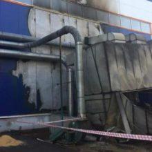 Взрыв прогремел на Шкловском деревообрабатывающем заводе