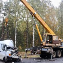 Смертельное ДТП в Рогачевском районе: микроавтобус вылетел на «встречку»