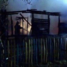 В Гомельском районе на пожаре дома погиб мужчина