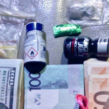 В Мозыре задержали крупного наркоторговца, изъято два пистолета