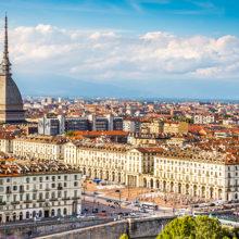 В центре Турина горит историческое здание, входящее в список Всемирного наследия
