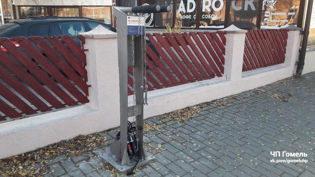 бесплатные станции для обслуживания велосипедов