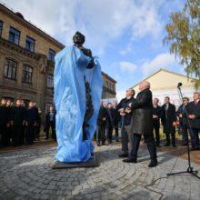 В Бресте открыли памятник Пушкину