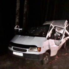 Пьяный бесправник совершил ДТП, пострадала его дочь