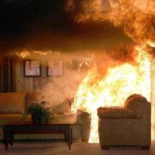 В Гомеле на пожаре в квартире заживо сгорел мужчина