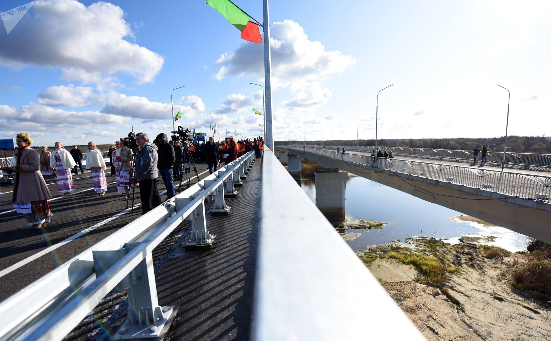 мост через реку Сож