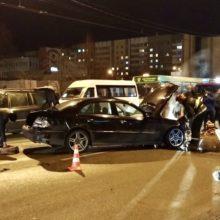 Серьезная авария на проспекте Речицком, есть пострадавшие