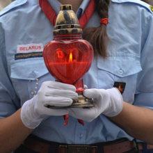 Священный Вифлеемский огонь доставлен в Беларусь