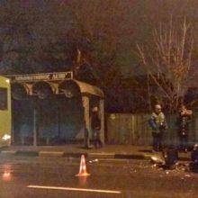 В Гомеле пьяный водитель врезался в автобус и попал в реанимацию