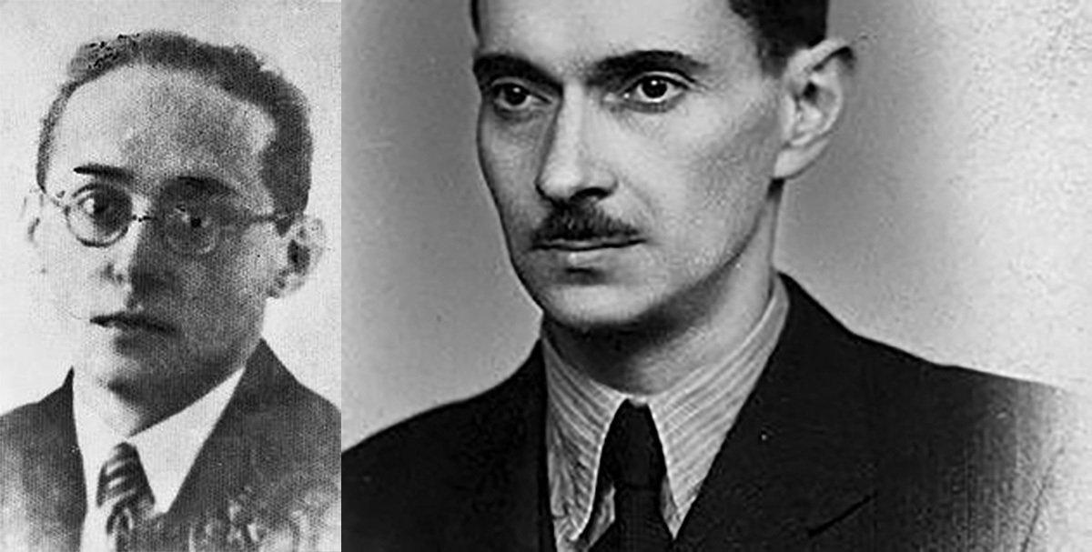 Людвик Видершал и Ежи Маковецкий