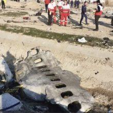 Украинский пассажирский самолет разбился в Тегеране