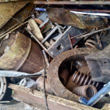 В Ветковском районе задержан грузовик с металлом