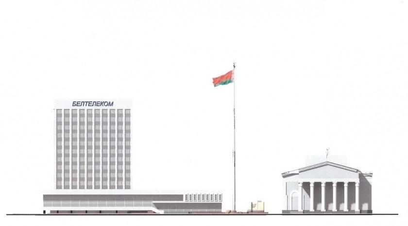 60-метровый флагшток