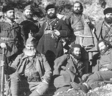 Бойцы Народно-освободительной армии Греции (1942 г.)