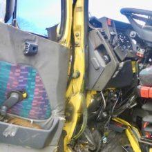 ДТП под Гомелем: столкнулись два грузовика и легковушка