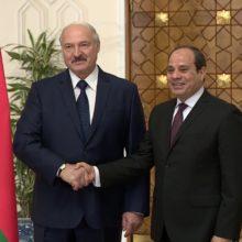Президент Лукашенко в Египте с официальным визитом
