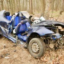 Спасатели опубликовали видео со спасением девушки из покореженного авто