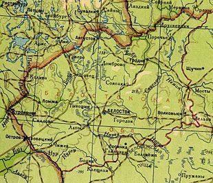 Установление советско-польской границы