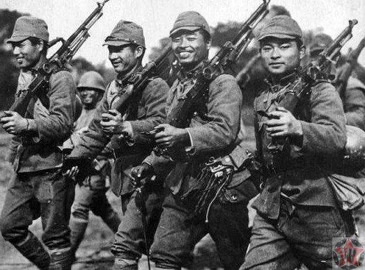 Эти японские вояки из Квантунской